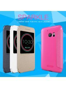 Чехол-книжка NILLKIN для HTC 10 (10 Lifestyle) (серия Sparkle)