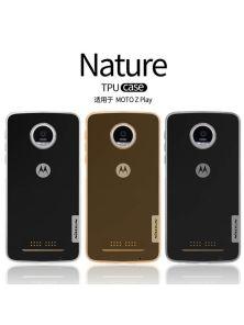 Силиконовый чехол NILLKIN для Motorola Moto Z Play (серия Nature)