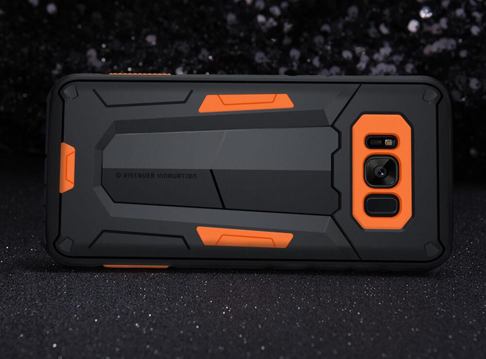 Samsung Galaxy S8 Zilver Orange